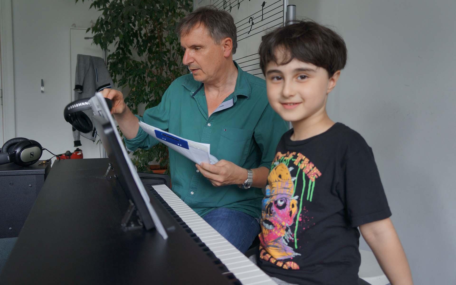 Lerne jetzt Klavier spielen in der Musikschule Q15!